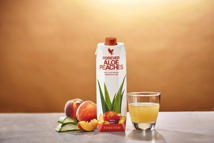 Dauerhaft müde? Forever Aloe Peaches